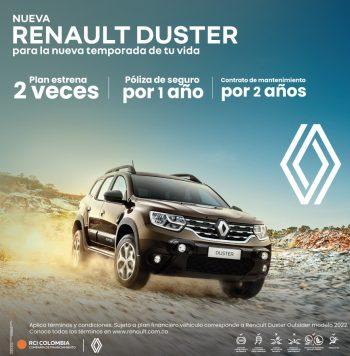 NUEVA Duster 1.3L Turbo INTENS 4X4 OUTSIDER 2022